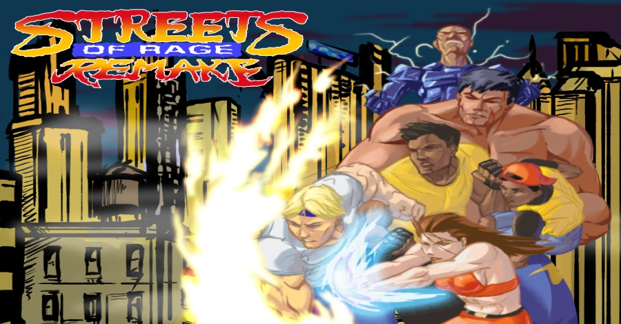 Read more about the article חובה לשחק: Streets of Rage Remake