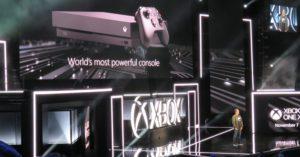 E3 2017 – הצגתה של האקסבוקס One X
