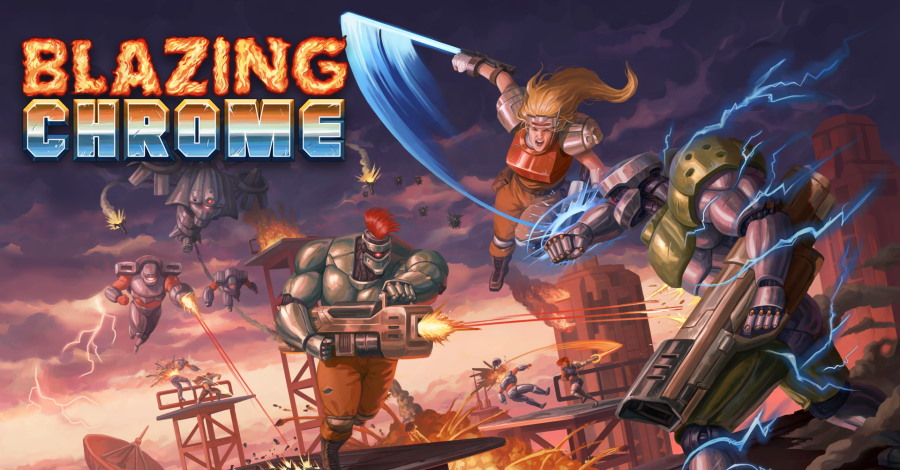 קצר – Blazing Chrome