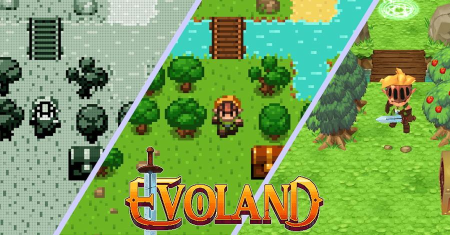 קצר – Evoland