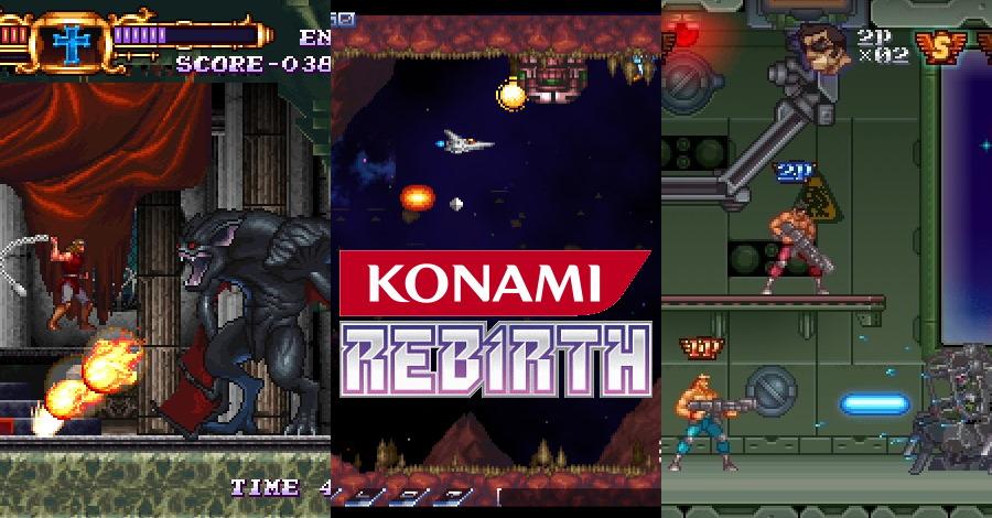 המשחקים האבודים של קונאמי