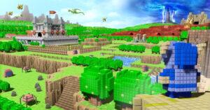 מפוקסלים בתלת מימד – 3D Dot Game Heroes